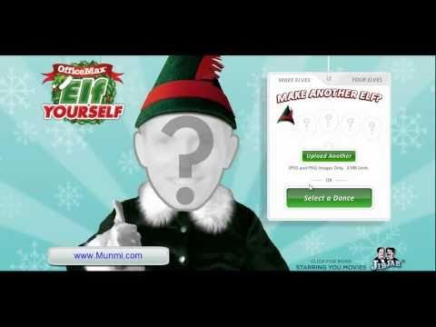 Como crear un video chistoso de elfos navideños con JibJab