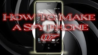 Tinkernut - How To Make A James Bond Spy Phone