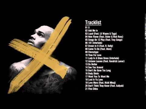 Chris Brown   X Album   Full Album 2014 10   YouTube