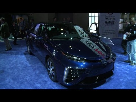 Toyota's hydrogen fuel-cell green car soon available in the US