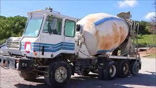 1992 Crane Carrier Glider Kit GK ready mix truck for sale | no-reserve auction September 28, 2017