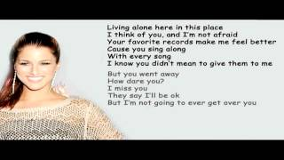 [Lyrics] Cassadee Pope - Over You [Lyrics On Screen] HD