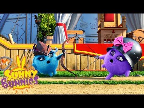 Cartoons for Children | SUNNY BUNNIES - ARCHERY | Funny Cartoons For Children