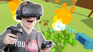 APOCALYPSE SIMULATOR IN VIRTUAL REALITY | Watching Grass Grow In VR (HTC Vive Gameplay)