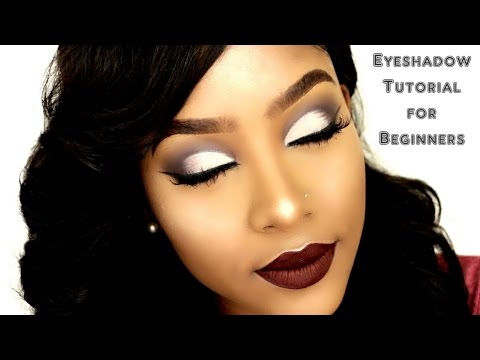 EASY Beginner Eye-shadow Makeup Tutorial   Talk Through   PETITE-SUE DIVINITII