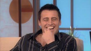 """What's My Next Line"" with Matt LeBlanc on The Ellen Show (10/7/2005)"