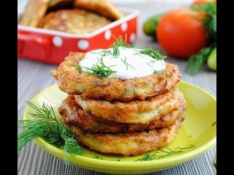 Блины из кабачков по-турецки. Оладьи из овощей. Простой и очень вкусный рецепт от свекрови.