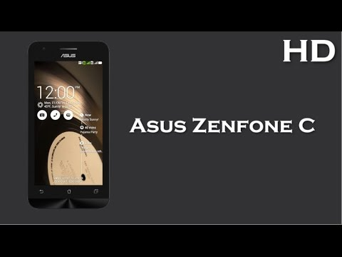 Asus Zenfone C launch in India with 4.5 Inch Display 2100mAh battery. 1GB RAM. Android 4.4