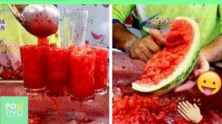 Suco de melancia pelas ruas do Paquistão | Positivo