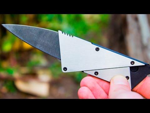 Нож кредитка из Китая - Самый популярный нож на Aliexpress! СерGO