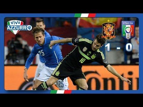 Highlights: Spagna-Italia 1-0 (5 marzo 2014)