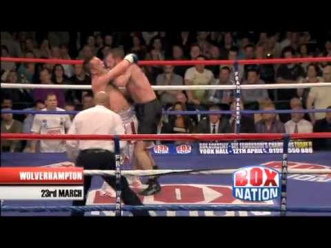 Shane McPhilbin vs Enzo Maccarinelli - BoxNation Highlights - 23rd March 2012