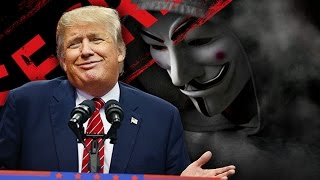 Anonymous grozi Trumpowi: Ujawnimy to!