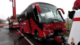 Quatre Portugais tués dans un accident de car en Saône-et-Loire