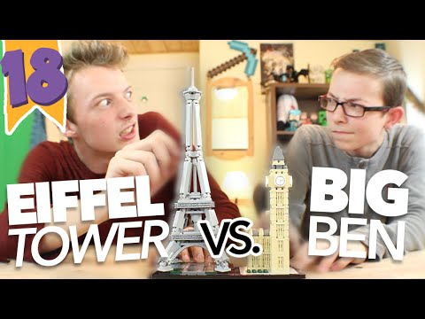 SKY vs FIN | EP 18 | PARIS VS LONDON LEGO CHALLENGE!!!