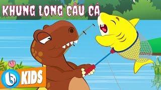 Khủng Long Bạo Chúa bị Baby Shark Troll - Hoạt Hình Công Viên Khủng Long