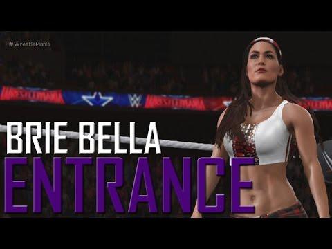 WWE 2K17: Brie Bella Entrance