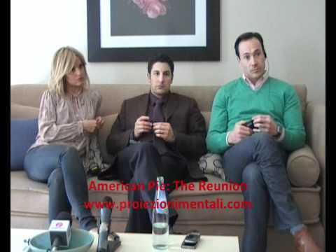 Jason Biggs, Mena Suvari, Chris Klein - American Pie Reunion mini conference
