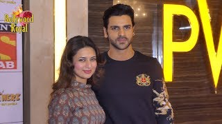 Divyanka Tripathi & Vivek Dahiya at Screening of Sab TV New Show
