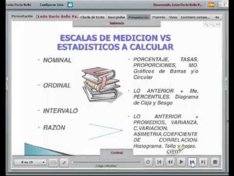Las Escalas de Medicion Conceptos Escalas de Medición