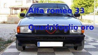 Restoration of my Alfa Romeo 33 1.5 quadrifoglio oro 1984