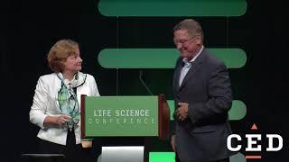 Life Science Award Presentation to Max Wallace