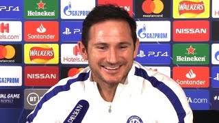 Frank Lampard FULL Pre-Match Press Conference - Chelsea v Ajax - Champions League
