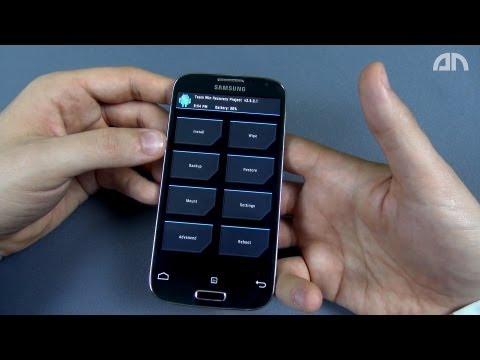 Samsung Galaxy S4 - Recovery-Menü / Mode / Modus - Howto - androidnext.de