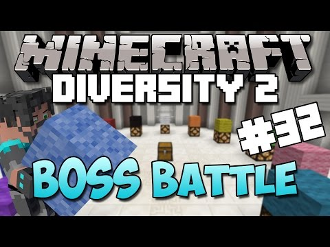 Minecraft : Diversity 2 - Ep. 32 - The Half-stack Finale! (boss Battle) video