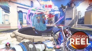Highlight Reel #241 - Overwatch Player Finds Devastating Use For Mei's Ice Wall
