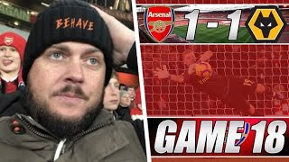 Arsenal vs Wolves - We Were Awful Today - Matchday Vlog