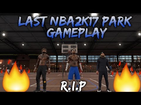 HEADPHONE WARNING |NBA2k17|LAST NBA2K17 MYPARK GAMEPLAY