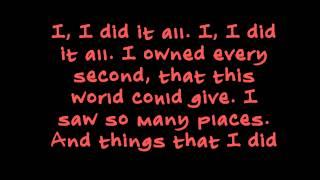 OneRepublic - I Lived (Lyric Video)