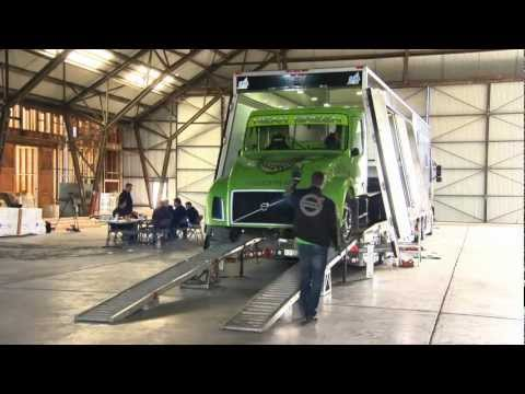 Volvo Trucks - Mean Green Hybrid Truck World Speed Record