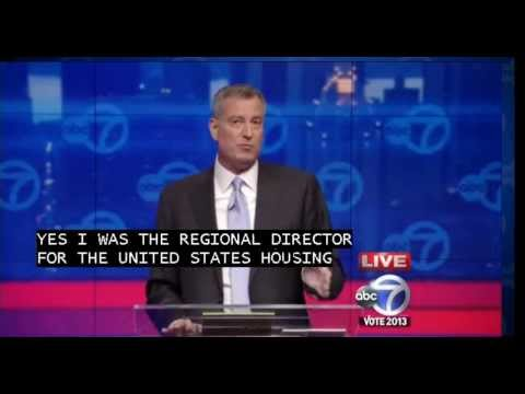 New York City Mayoral Debate (Pt 2) - Bill de Blasio vs Joe Lhota Debate 2013