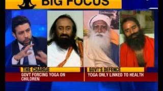 Nation at 9: India's spiritual trinity on Yoga day