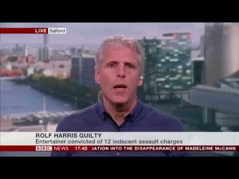 Rolf Harris/Operation Yewtree - Dr Bernard Gallagher comments on BBC News