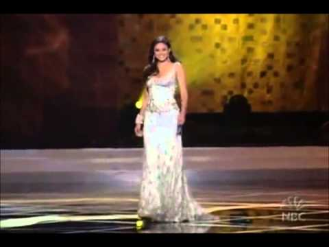 Top 4 Miss DR in Evening Gown