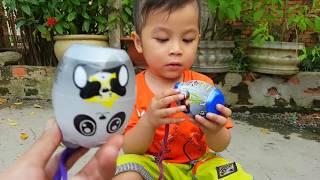 Trò Chơi Xe Cá Mập Chở Xe Mini ❤ ChiChi ToysReview TV ❤ Đồ Chơi Trẻ Em