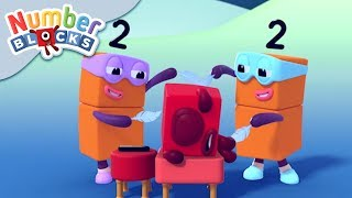 Numberblocks - Terrible Twins! | Learn to Count