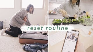 Reset Routine | Getting My Life Back Together