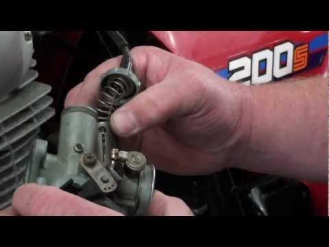 Pt. 2.5 Honda ATC200S Carb Service