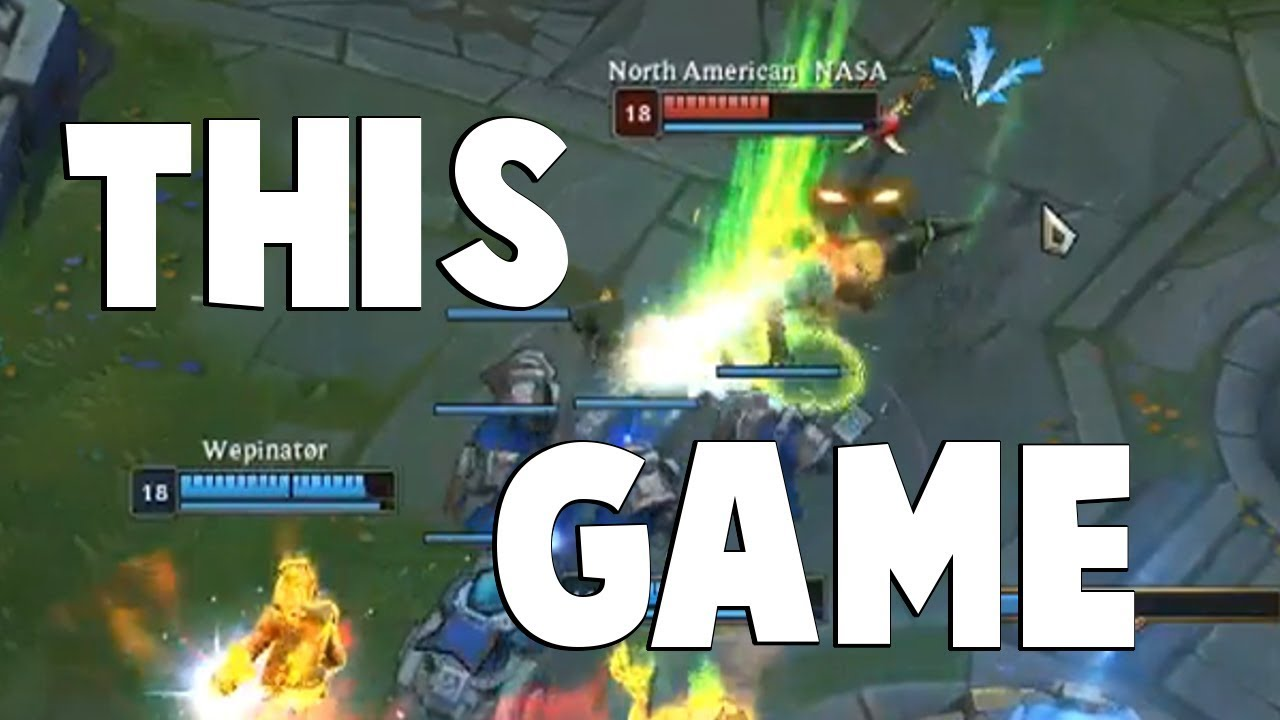 The Closest League of Legends Game We've Seen in a While | Funny LoL Series #490