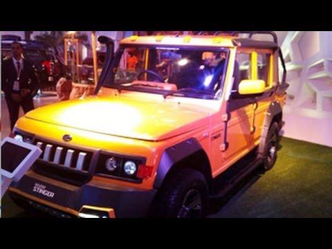 Mahindra Bolero Stinger 12th Auto Expo 2014 Youtube