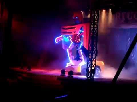 Transformes Circo Portugal Camaro Youtube