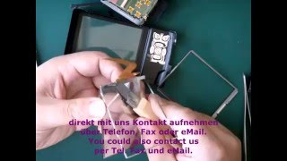 1P33 Reparatur Kameras Panasonic lumix TZ3 - Display Umtausch Replace or Repair- Display change