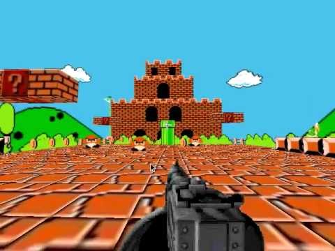 Super Mario Bros 3D (First Person Shooter) for FLASH