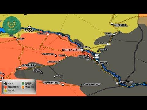 5 октября 2017. Военная обстановка в Сирии. Минобороны РФ обвиняет США в поддержке террористов.