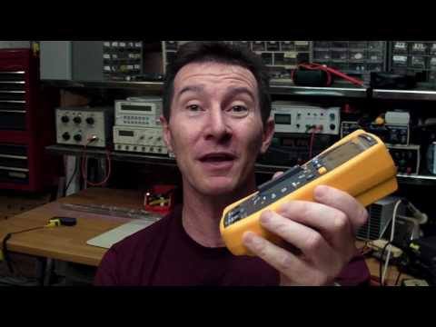 EEVblog #60 - Fluke 117 Multimeter Review and Teardown