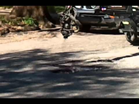 Pothole Killer PK-2000 in Action - Part 1
